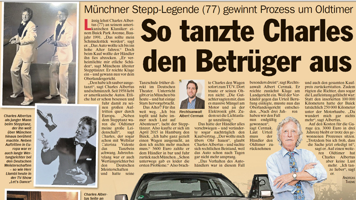 You are currently viewing TZ Artikel: So tanzte Charles den Betrüger aus